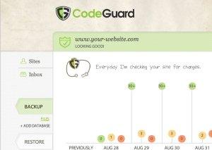 CodeGuard Website Backup - Website Security Solution