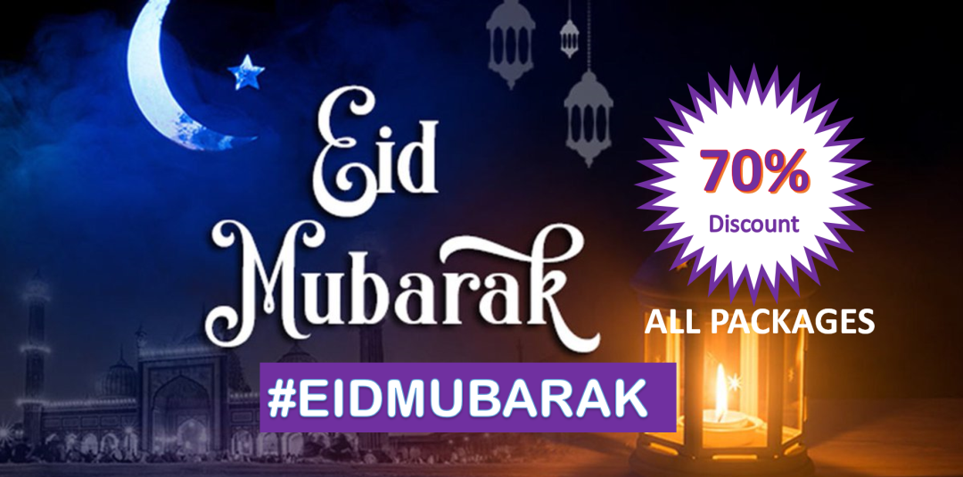 70% Eid Al-Fitr Web Hosting Promotional Discount